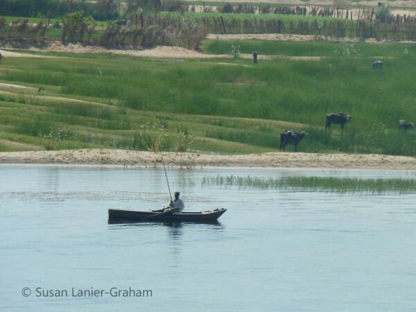 Fishing in the Nile