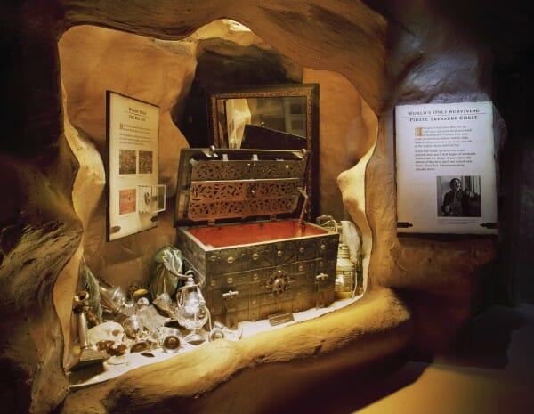 Pirate Museum Tews Chest