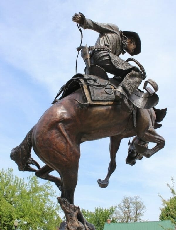 Cowboy in Joseph, Oregon