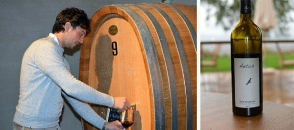 Spa Hotel Adler - Tenuta Sanoner Winemaker Giuseppe Basta and the Aetos Rosso Sangiovese