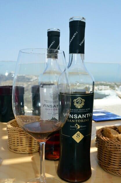 Santo Wines Vinsanto Santorini Wineries
