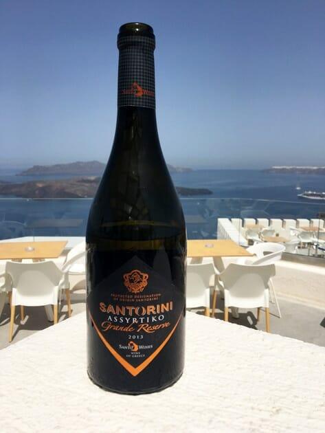 Santorini Assyrtiko Grand Reserve - Santorini Wineries