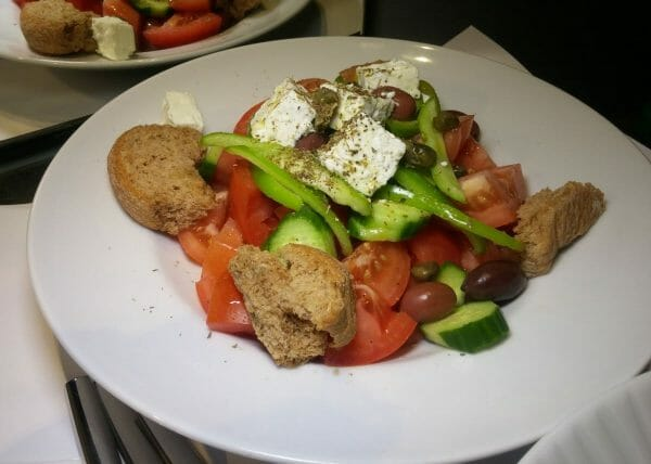 Greek Salad - Hotel Olympia