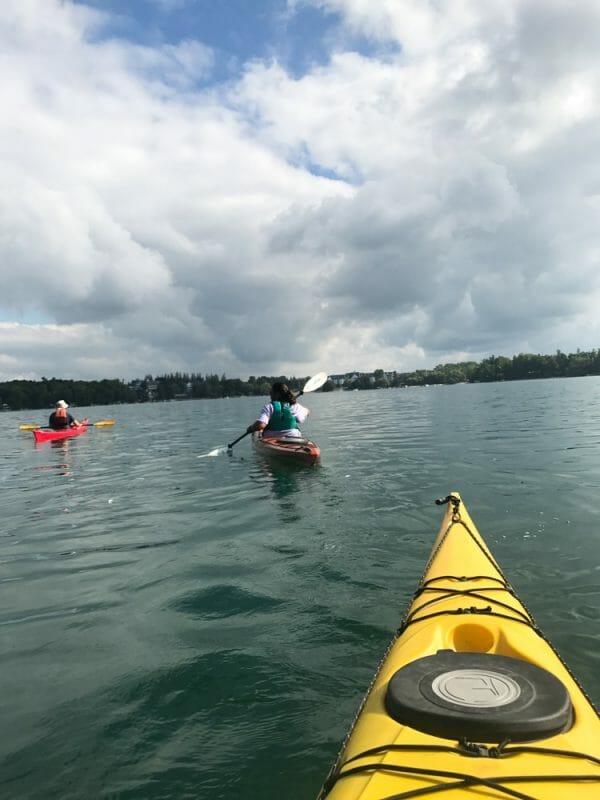 Elkhart Lake kayaking