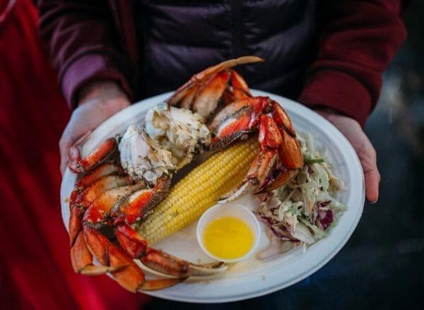 Sequim Washington Dungeness Crab Dinner