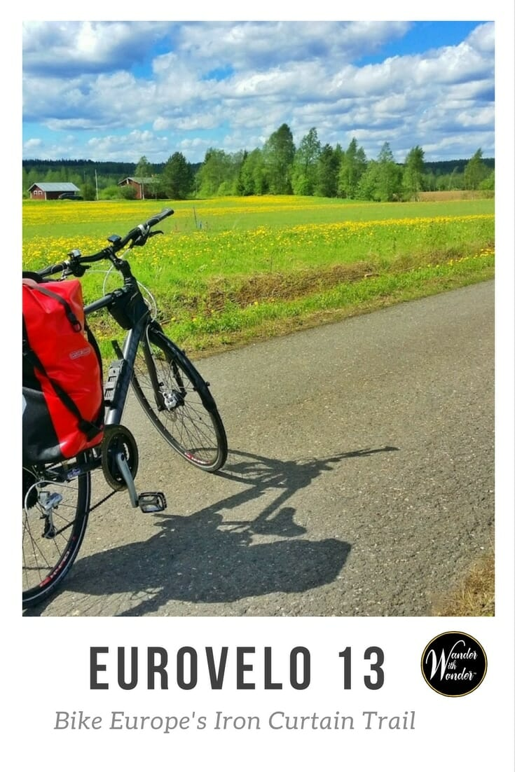 The Iron Curtain Trail, or EuroVelo 13, is a 6,462-mile-long biking/walking heritage route extending through 20 countries along the former Iron Curtain. #adventure #travel #Europe #biking #hiking #eurovelo13 #soviettourism #tourism #ironcurtain #wander