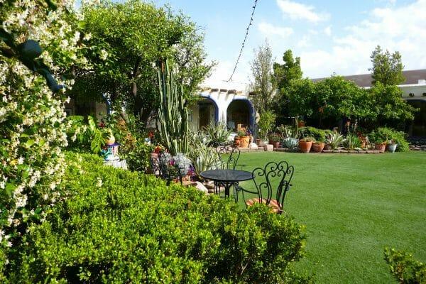 Hacienda Del Sol courtyard in Tucson