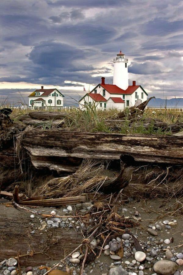 Dungeness Lighthouse in Sequim Washington