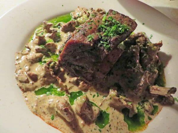 Wild Mushroom Dinner at The Depot Restaurant