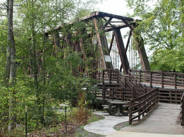 Railroad Bridge Park in Sequim Washington