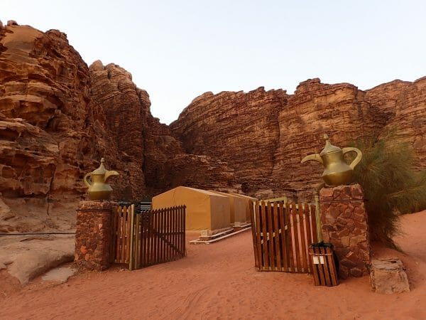 Jordan Rahayeb Desert camp
