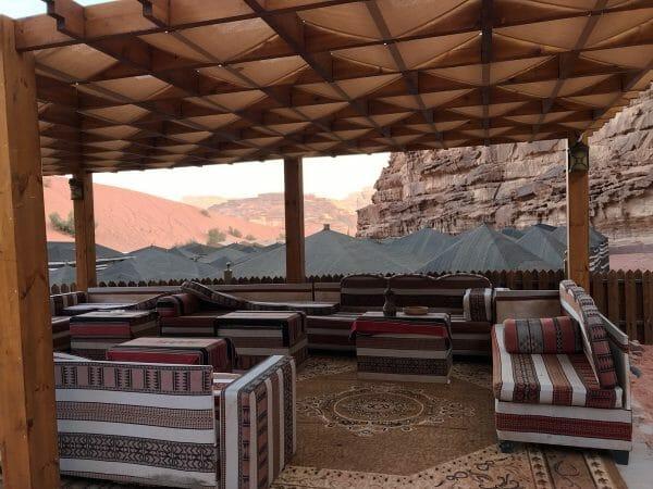 Jordan desert camp Wadi Rum