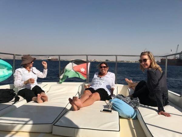 Red Sea yachting Jordan