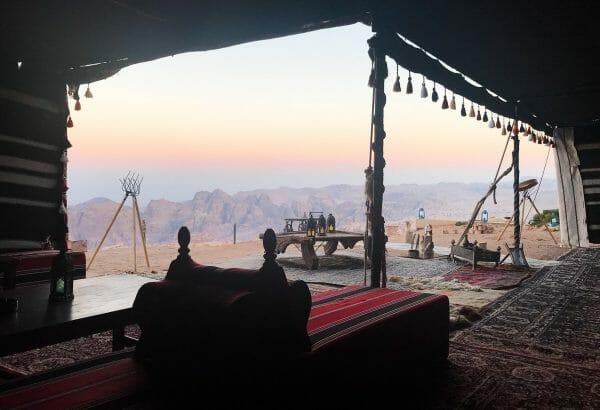 Jordan Petra sunrise