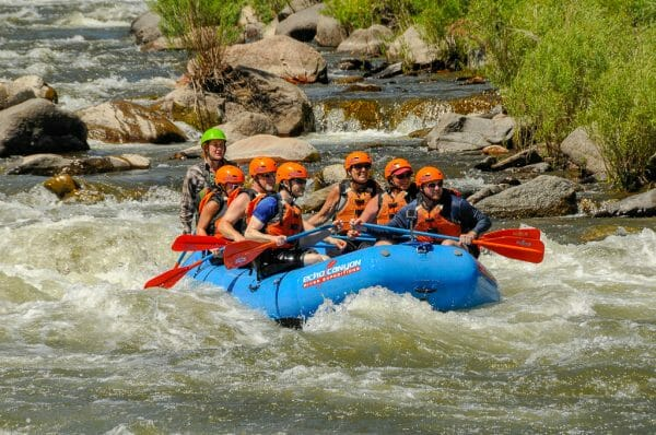 Royal Gorge Colorado - river rafting