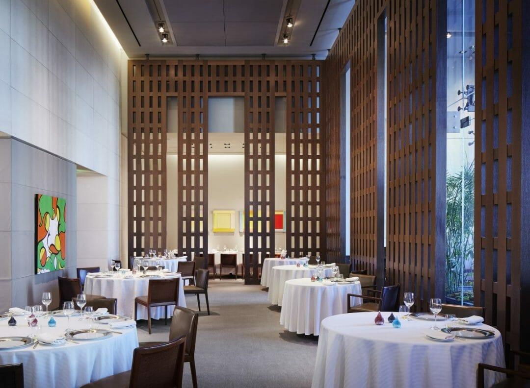 Restaurant Guy Savoy at Caesars Palace Las Vegas. Photo courtesy Caesars Palace