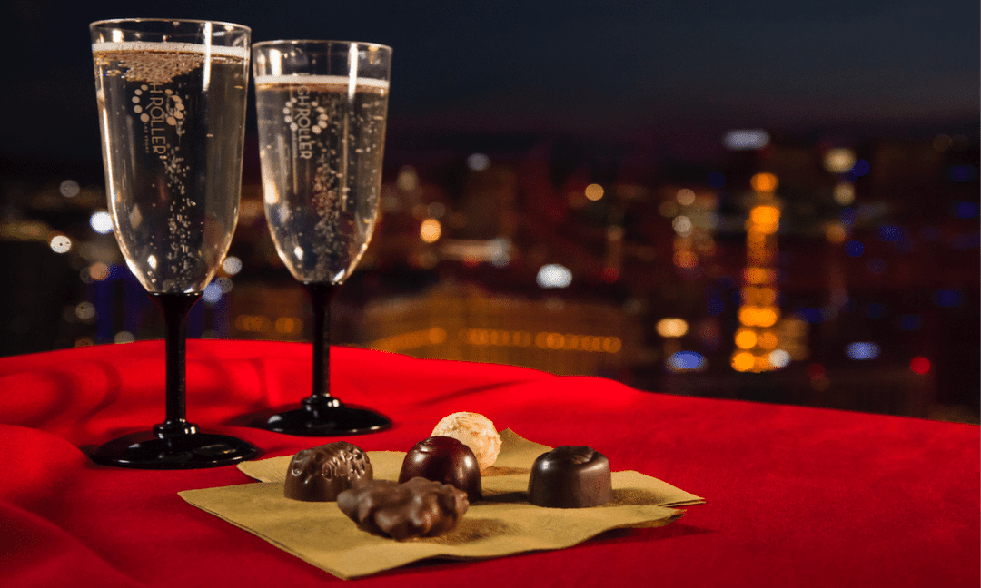 Chocolate Tasting on the High Roller. PhotocourtesyVox Solid Communications