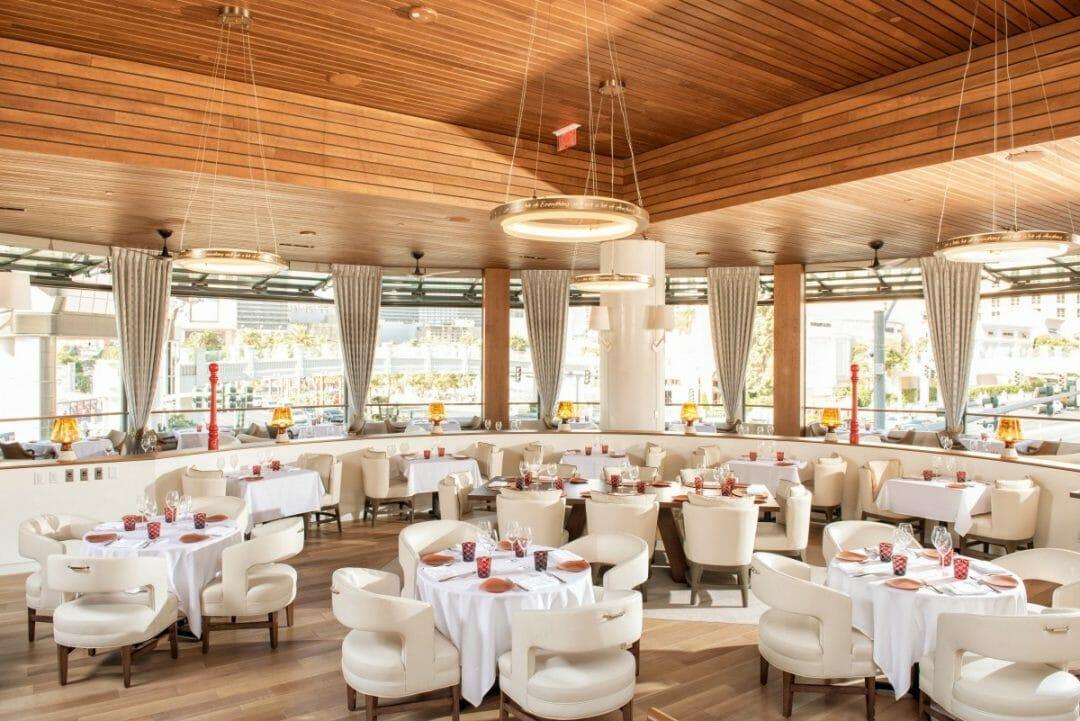 Inside Giada at Delano Las Vegas. Photo courtesy MGM Resorts