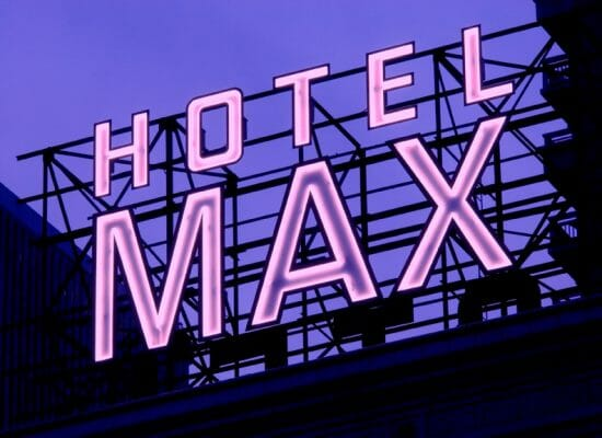 In 2005, Hotel Max became a beacon of rock culture. Photo courtesy of the Hotel Max