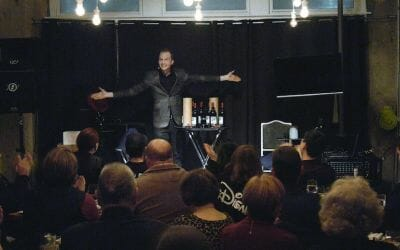 An Evening of Wine and Magic: Trigg Watson at Checkered Past