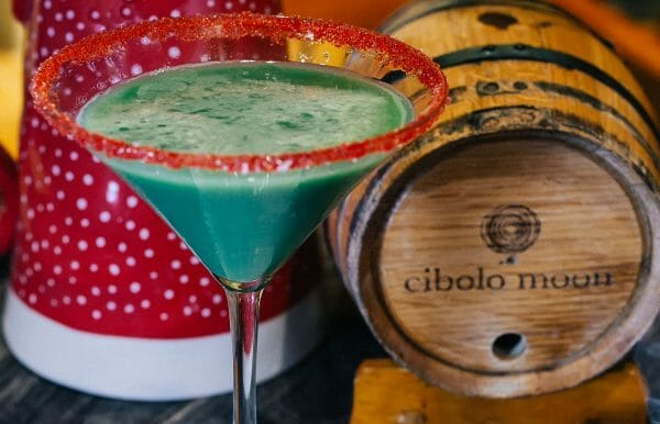 On the third day of Christmas, sip The Ornamentini from Cibolo Moon at JW Marriott San Antonio in Texas