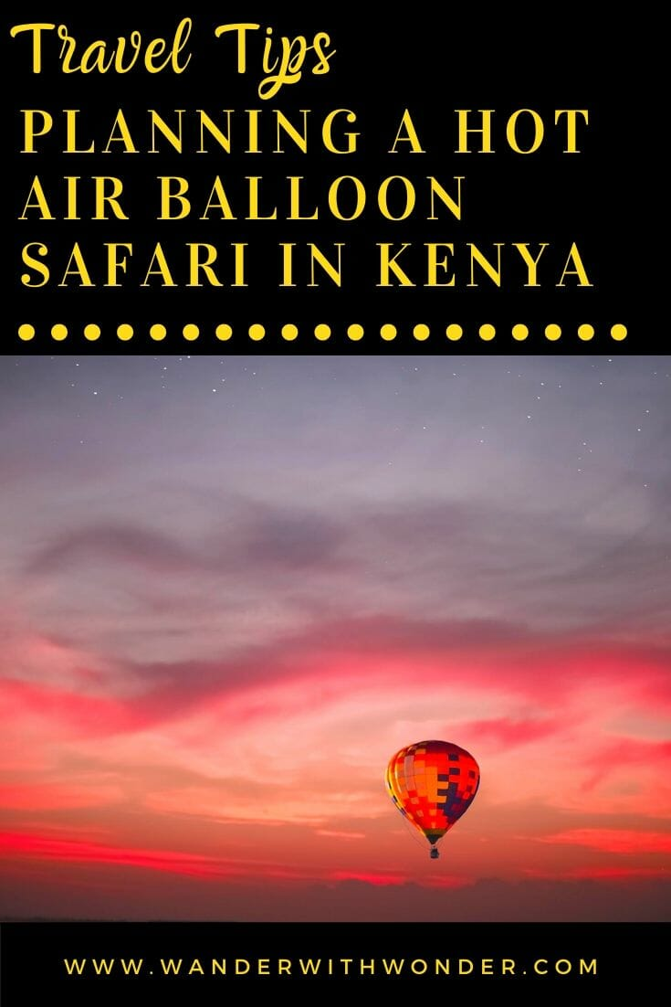 There are not many things out there as exciting as a hot air balloon ride. Lazily gliding high up among the clouds with the world beneath you is a feeling that can't be described in words. What takes things up another notch is living that same experience in Kenya. The crisp fresh air, muted earthy colors, and the lovely view of the ground below dotted with wildlife is something you can only experience in Maasai Mara. Here is what you need to know for planning a hot air balloon safari in Kenya.
