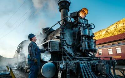 Riding the Durango & Silverton Railroad