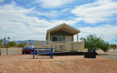 Staying in a State Park Cabin on Lake Havasu