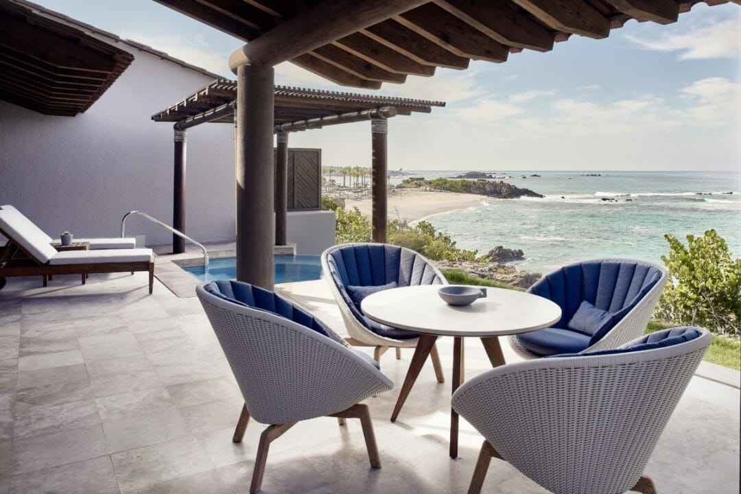 Oceanfront suite at Four Seasons Resort Punta Mita Mexico