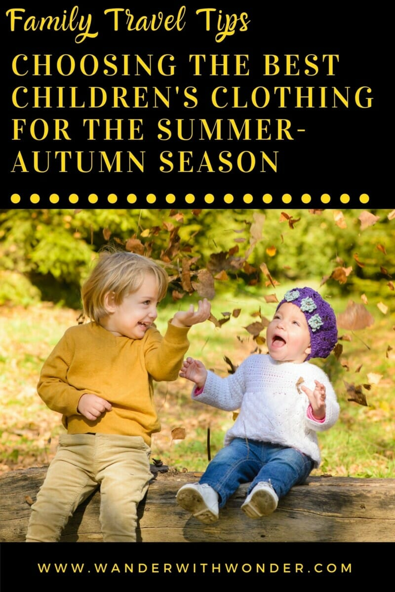 The summer-autumn season requires numerous things that allow your child to feel comfortable, both in the heat and in the cold. The main rule is the compatibility of wardrobe elements in style and color. Here are our tips for making the right choice of children's clothing for the summer-autumn season.
