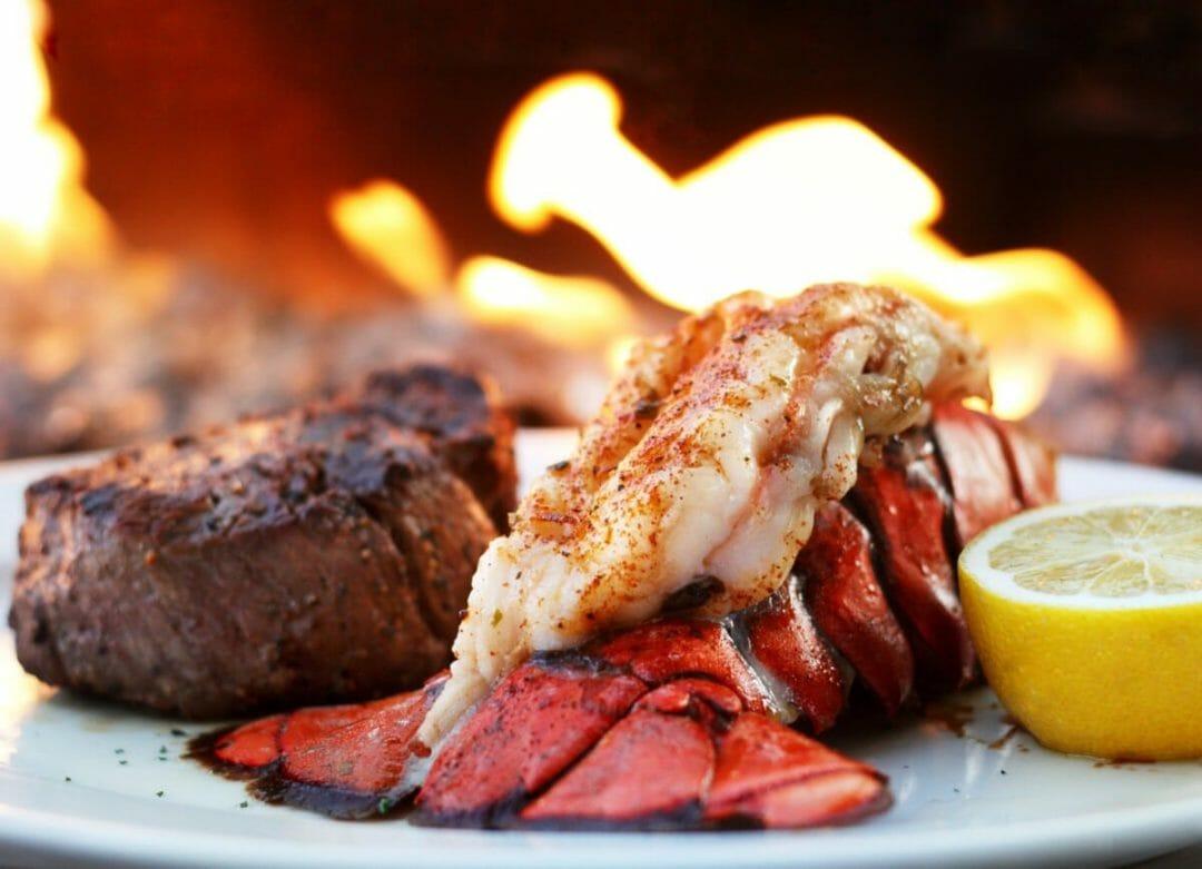 Ocean Prime Filet and Lobster Tail. Photo courtesy Ocean Prime Phoenix