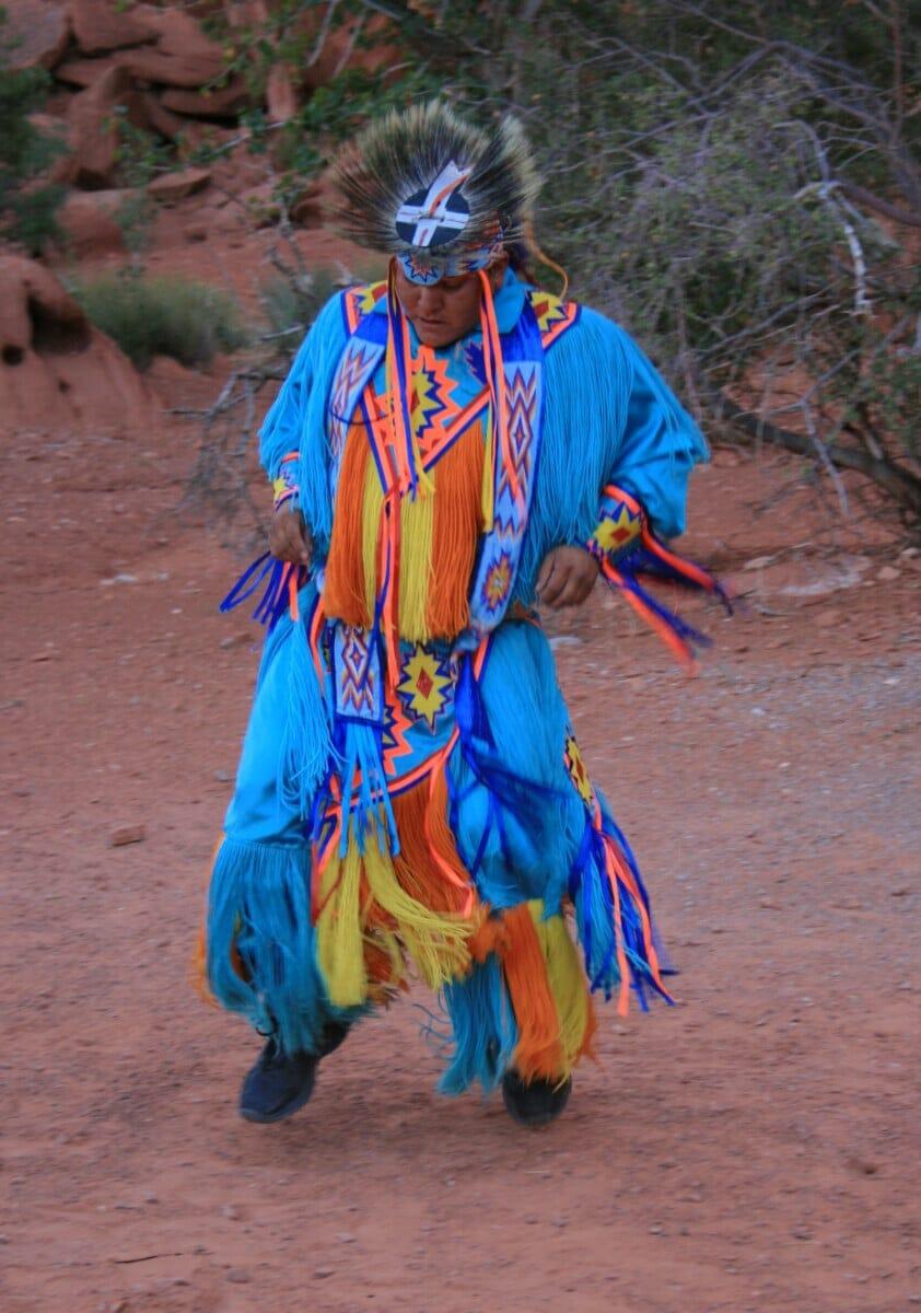 Navajo Nation Parks Dancer