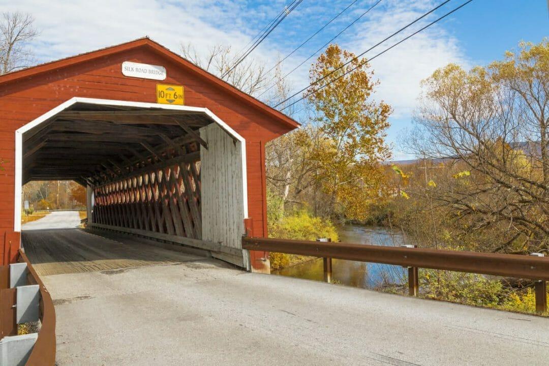 Silk Road Bridge, another covered bridge in Vermont.