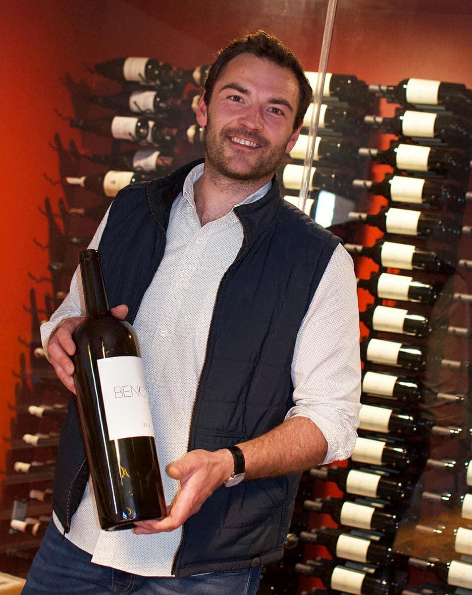Arnaud Fabre - Benom Wines ©Cori Solomon - wineries in Paso Robles