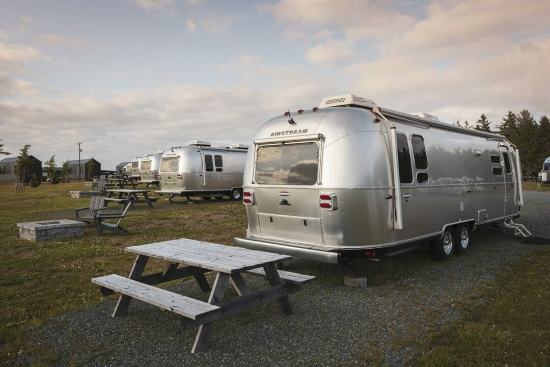 Stay in an Airstream trailer. One of the things to do in Coos Bay.