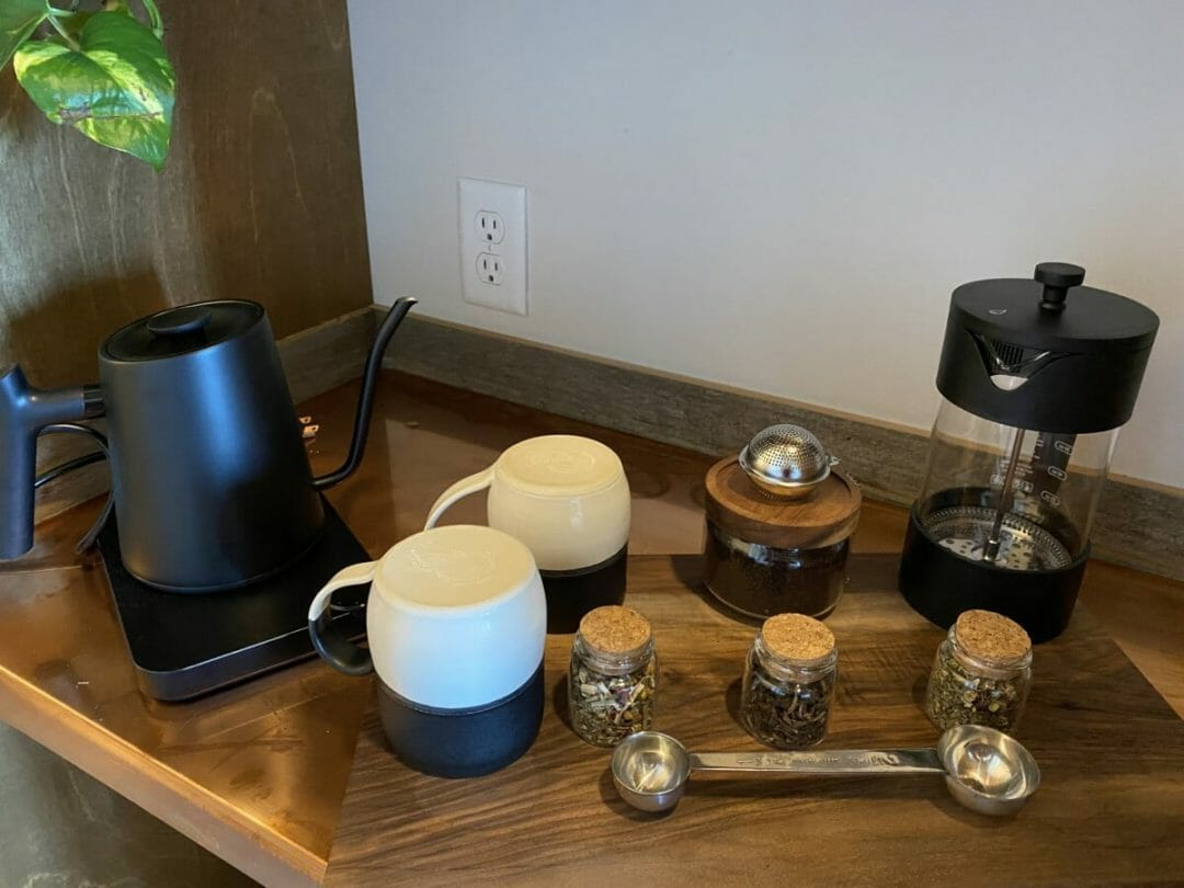 French Press - The Bowline Hotel in Astoria Oregon: Luxury on the Columbia River